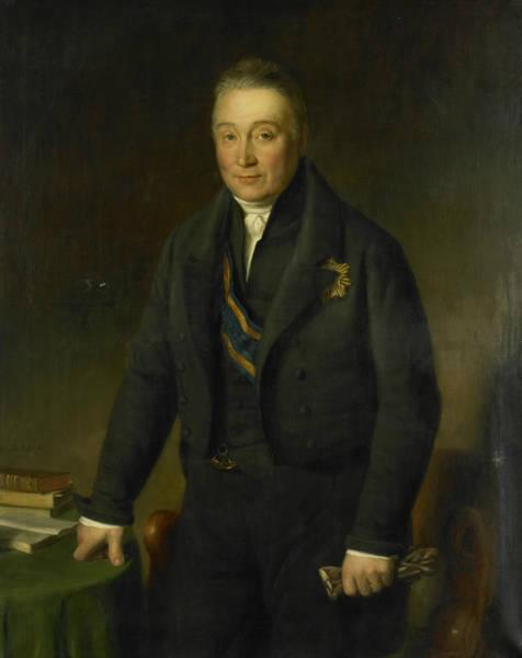 Painting - Adam Francois Jules Armand, Count Van Der Duyn Van Maasdam by Jan Baptist van der Hulst