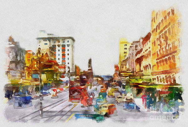 Wall Art - Painting - Adelaide Collection - 1 by Sergey Lukashin