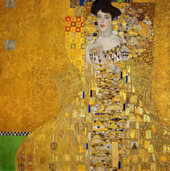 Heart Gold Painting - Adele Bloch-bauer's Portrait - Digital Remastered Edition by Gustav Klimt