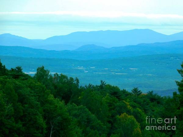 Photograph - Adirondack Mountains In Nys Soft Abstract Effect by Rose Santuci-Sofranko