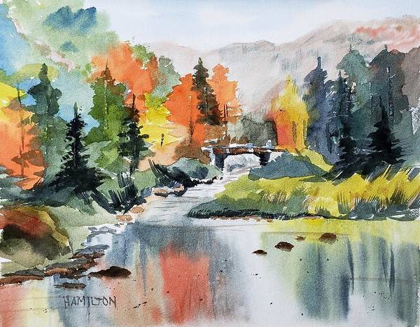 Painting - Adirondacks Of New York by Larry Hamilton