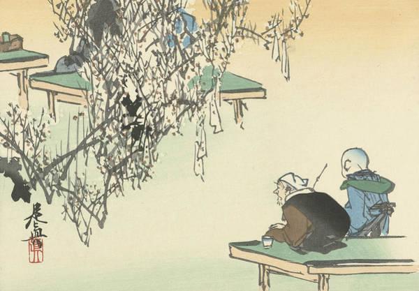 Relief - Admire Plum Blossom by Shibata Zeshin