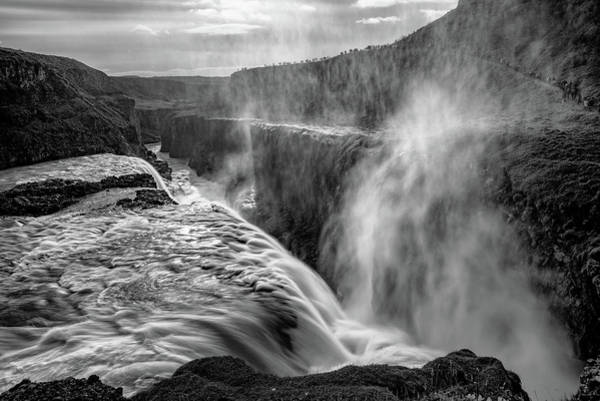 Wall Art - Photograph - Admiring Gullfoss by Darren White