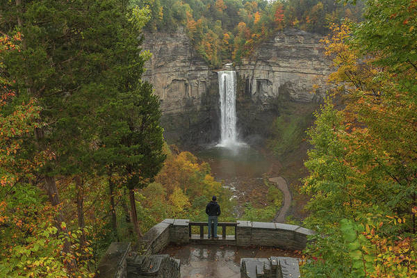 Photograph - Admiring Taughannock Falls by Dan Sproul