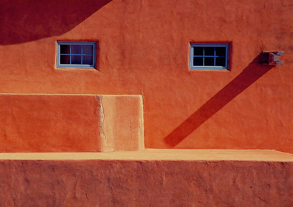 Wall Art - Photograph - Adobe And Window Abstract by S Katz