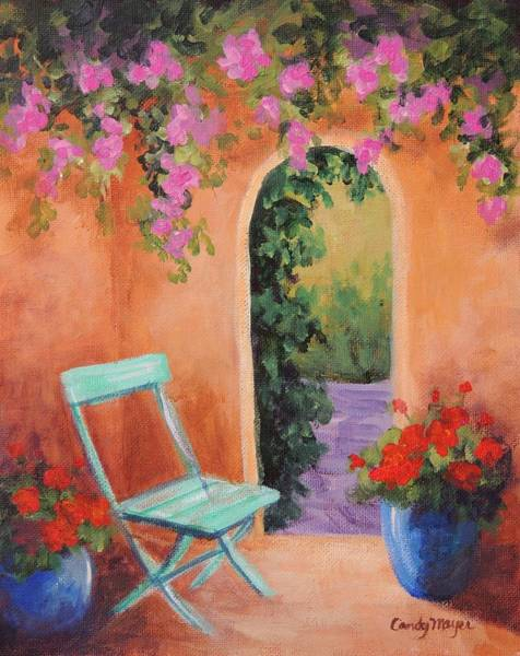 Wall Art - Painting - Adobe Archway by Candy Mayer