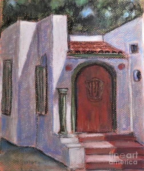 Painting - Adobe At Rancho Camulos by Laurie Morgan