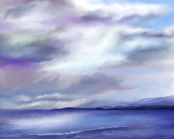 Painting - Adrift by Mark Taylor