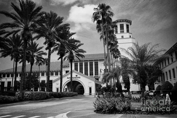 Wall Art - Photograph - Advent Health Hospital Formerly Florida Celebration Florida United States Of America by Joe Fox