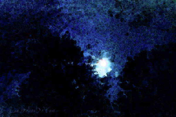 Wall Art - Photograph - Advent Moon by Lee Baker DeVore
