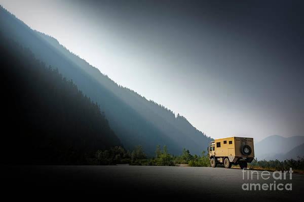 Heavy Duty Truck Wall Art - Photograph - Adventures Ahead by Peng Shi