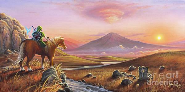 Painting - Adventure Awaits by Joe Mandrick