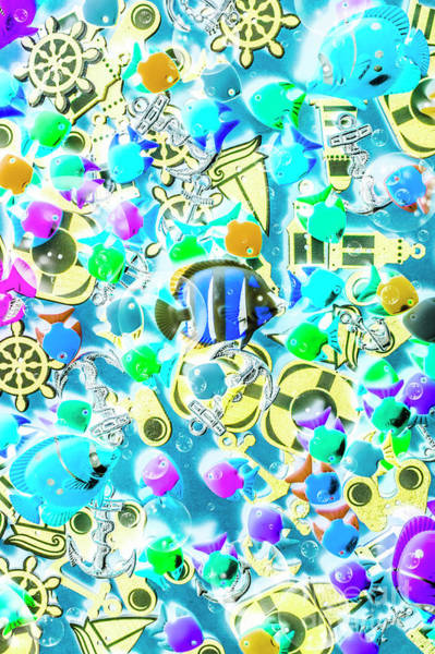 Colored Bubbles Photograph - Adventures On Icon Reef by Jorgo Photography - Wall Art Gallery
