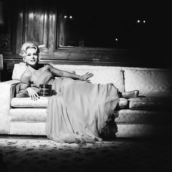 Socialite Photograph - Advertisement With Eva Gabor by Jack Robinson