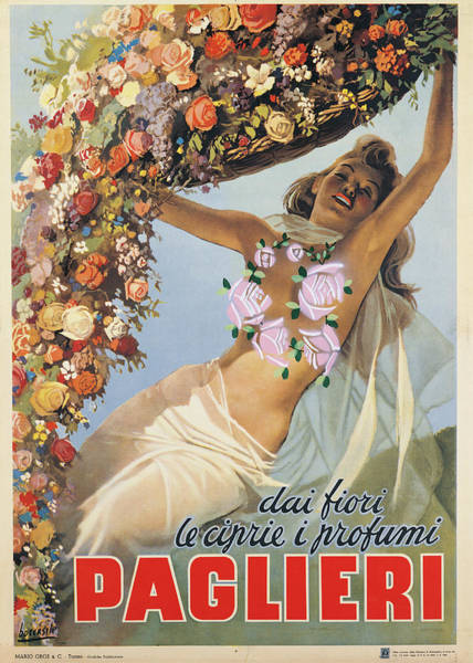 Painting - Advertising Poster Dai Fiori Le Ciprie by Mondadori Portfolio