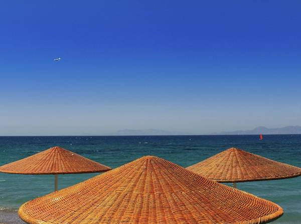 Palapa Wall Art - Photograph - Aegean Explore by Kennethbarker
