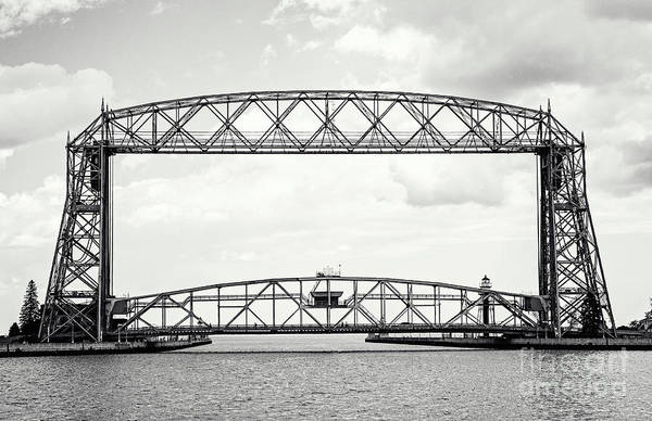 Photograph - Aerial Lift Bridge by Pam  Holdsworth