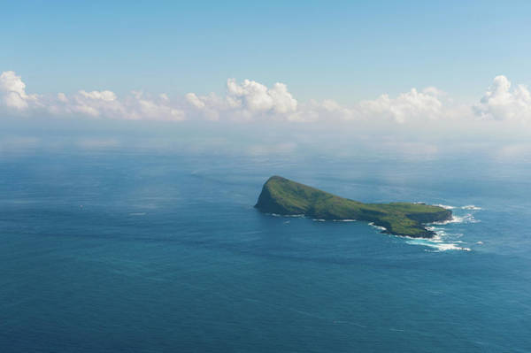 Photograph - Aerial Mauritius 002 by Karl Ahnee