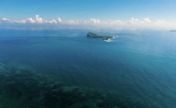 Photograph - Aerial Mauritius 003 by Karl Ahnee