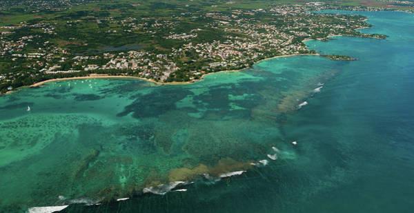 Photograph - Aerial Mauritius 006 by Karl Ahnee