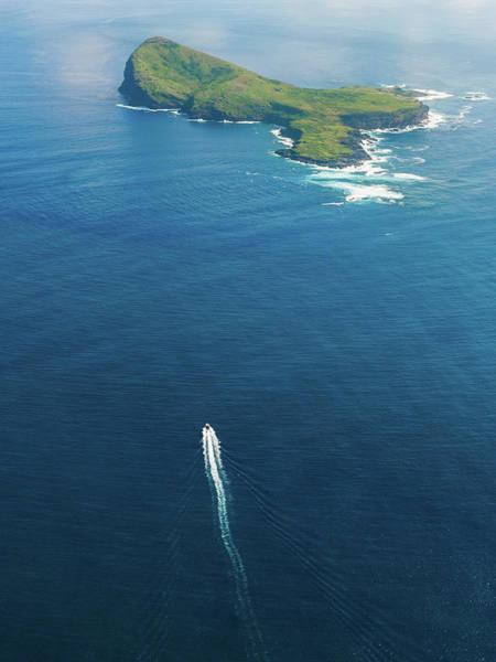 Photograph - Aerial Mauritius 007 by Karl Ahnee