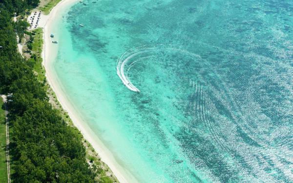 Photograph - Aerial Mauritius 009 by Karl Ahnee