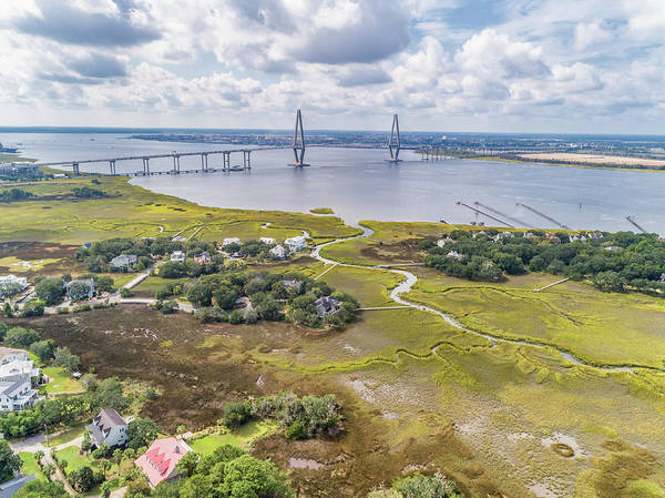 Wall Art - Photograph - Aerial Of Remley's Point  by Drew Castelhano