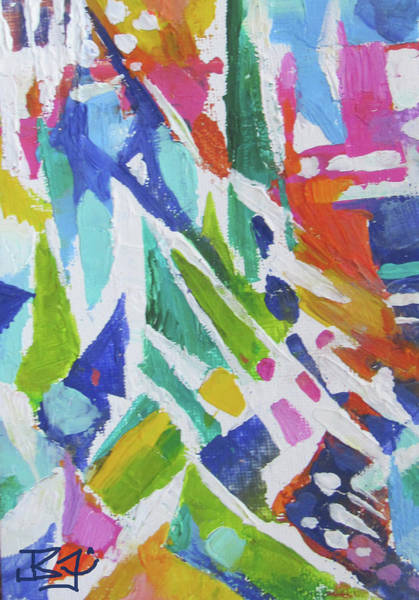 Painting - Aerial View by Jean Batzell Fitzgerald