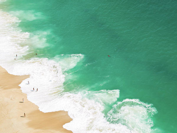 Enjoyment Photograph - Aerial View Of Beach by David Lopes