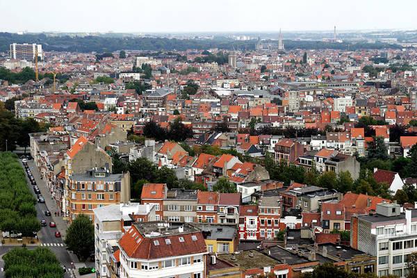 Belgium Photograph - Aerial View Of Brussels City. Belgium by Ga161076