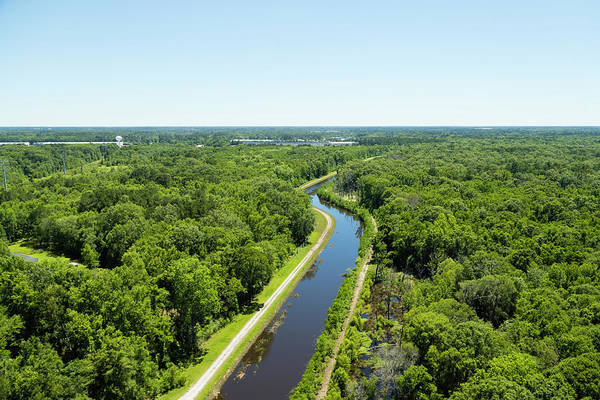 Wall Art - Photograph - Aerial View Of Vegetation On Landscape by Panoramic Images