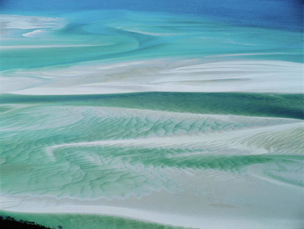 Australia Photograph - Aerial View  Whitsunday Island by Simon Bruty