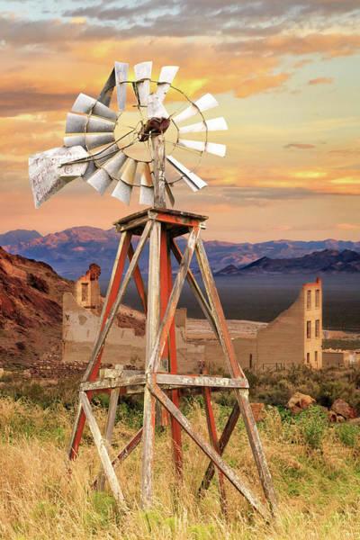 Photograph - Aermotor Windmill by James Eddy