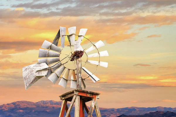 Photograph - Aermotor Windmill Up Close by James Eddy