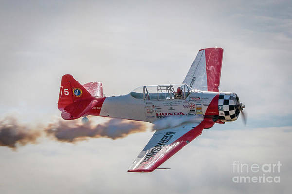 Photograph - Aeroshell Fly By by Tom Claud