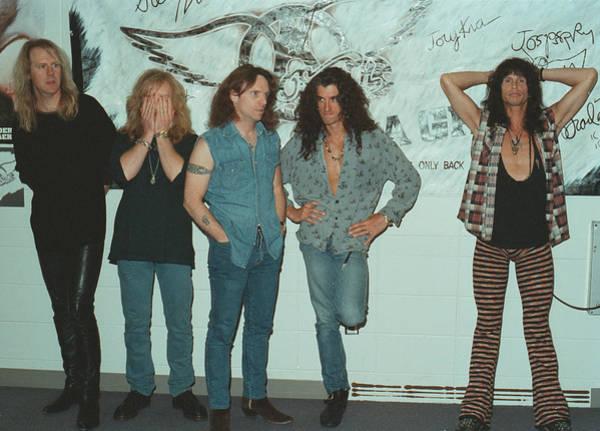 Steven Tyler Photograph - Aerosmith Backstage Portrait by Jim Steinfeldt