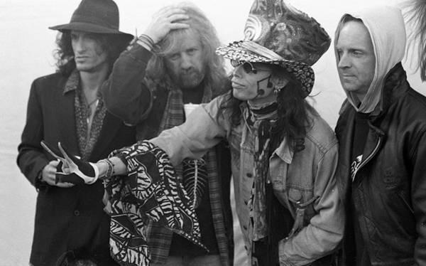 Steven Tyler Photograph - Aerosmith Donington 1994 by Martyn Goodacre