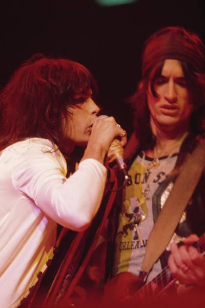 Photograph - Aerosmith Live by Fin Costello