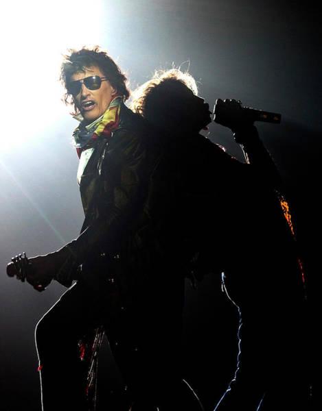 Steven Tyler Photograph - Aerosmith Live In Arnhem by Paul Bergen