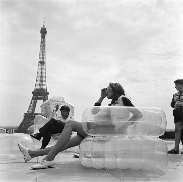 Furniture Photograph - Aerospace Furniture At Trocadero In 1967 by Keystone-france
