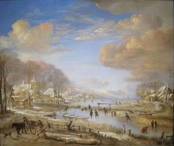 Wall Art - Painting - Aert Van Der Neer,  Landscape 41 by Aert van der Neer