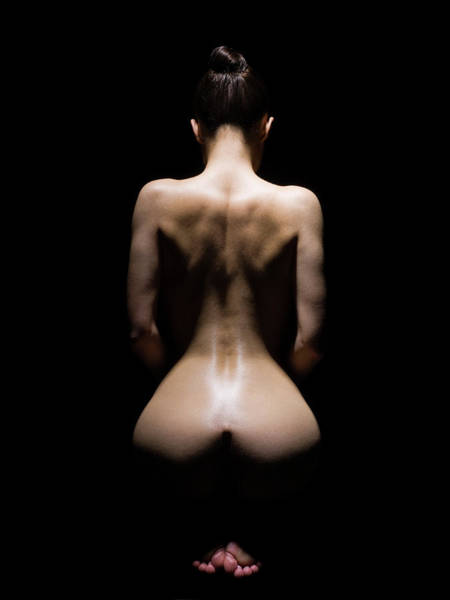 Buttocks Photograph - Aestheticising A Curvecious Woman by Michael H