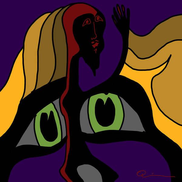 Digital Art - Afraid by Jeff Quiros