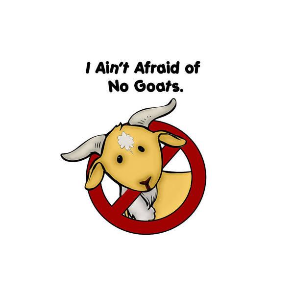 Digital Art - Afraid Of No Goats by John Haldane