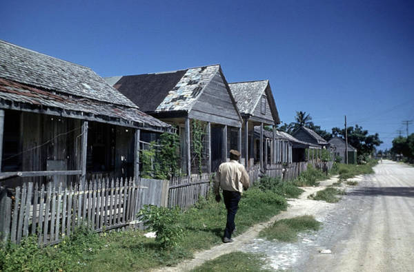 Us West Coast Photograph - African Ameican Section Key West by Michael Ochs Archives