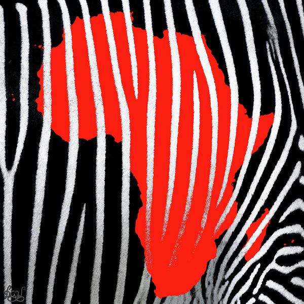 Tribal Land Digital Art - African Stripes by Derrick G Wood