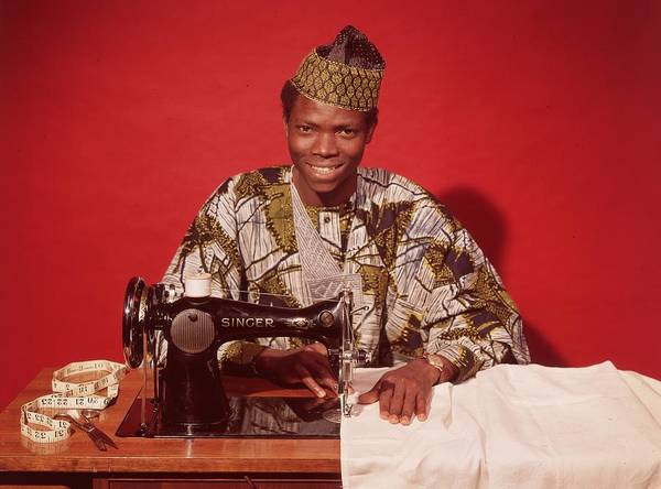 Craftsperson Photograph - African Textile by Chaloner Woods