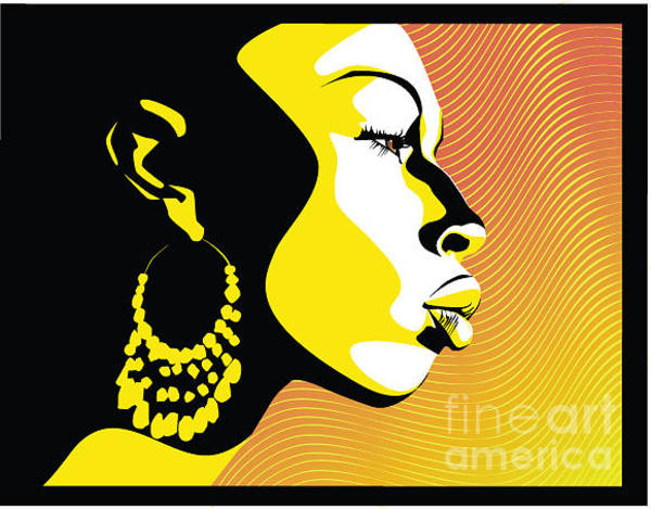 Wall Art - Digital Art - African Woman by Tananykina Svetlana