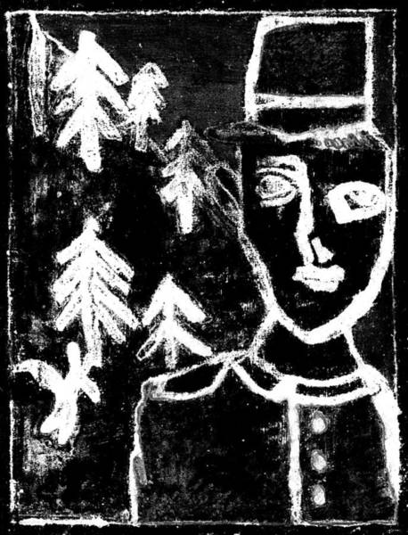 Digital Art - After Childish Edgeworth Black And White Print 11 by Artist Dot