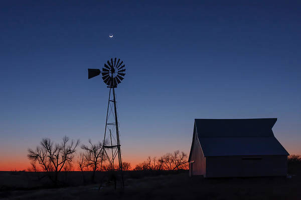 Great Plains Photograph - After Dark by Scott Bean